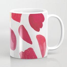 37  | 190408 Red Abstract Watercolour Coffee Mug