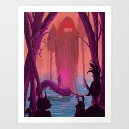 Jabberwocky. Art Print