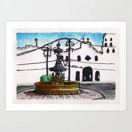 Philippines : Carriedo Fountain Art Print