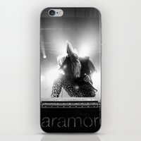 hayley williams iPhone & iPod Skins featuring Hayley Williams by Ethan Luck