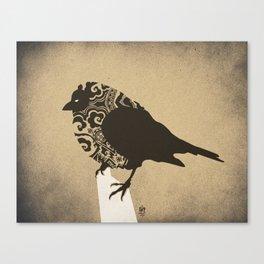 Chickadee Bird  Canvas Print