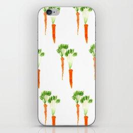 Carrots Pattern iPhone Skin
