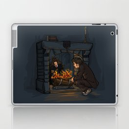 The Witch in the Fireplace Laptop & iPad Skin