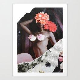 Flower Babe Art Print