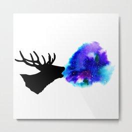 Space deer Metal Print