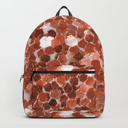 Rose gold glitter  II Backpack