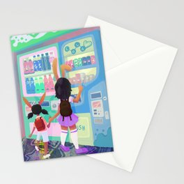 Pop Station Stationery Cards