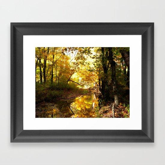 Fall afternoon II Framed Art Print