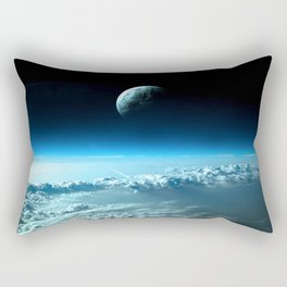Outter Earth Rectangular Pillow
