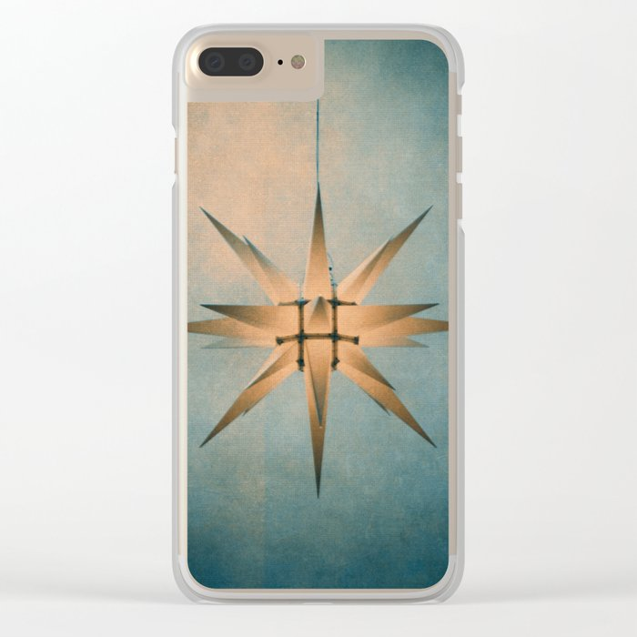 chrismas Clear iPhone Case