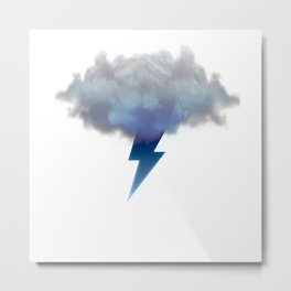 Cloud Storm Metal Print
