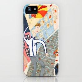 Umbrella Leverage  iPhone Case