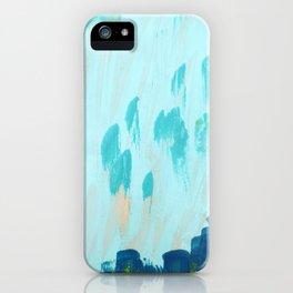 Blue Meadows iPhone Case
