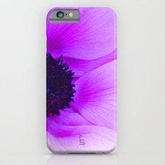 Pink Poppy Anemone I iPhone 6s Slim Case