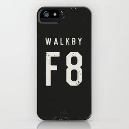 Walk by 'F8' (2) iPhone Case