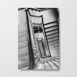 New York stairwell Metal Print