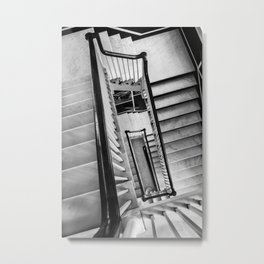 New York stairwell Metal Print