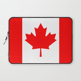 Canadian National flag, Authentic color and 3:5 scale version Laptop Sleeve