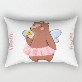 Bear Tooth Fairy Rectangular Pillow