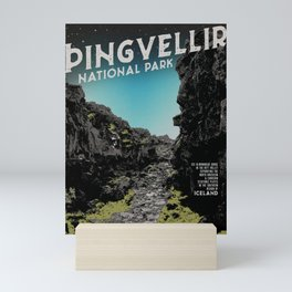 Iceland: Pingvellir Mini Art Print