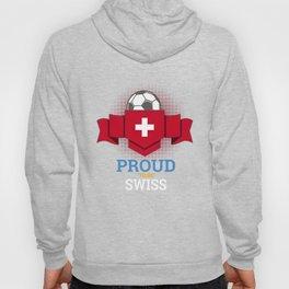 Football Swiss Switzerland Soccer Team Sports Footballer Goalie Rugby Gift Hoody