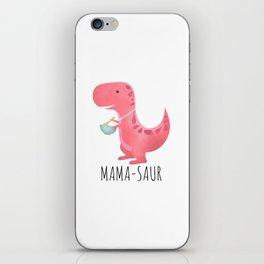 Mama-saur iPhone Skin