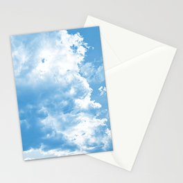 cloudy sky 2 wb Stationery Cards