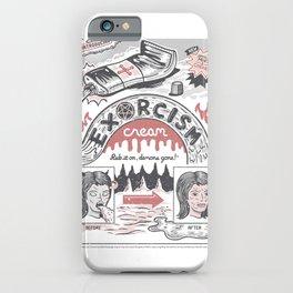 Exorcism Cream iPhone Case