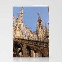 milan Stationery Cards featuring Milan by Alan Wong