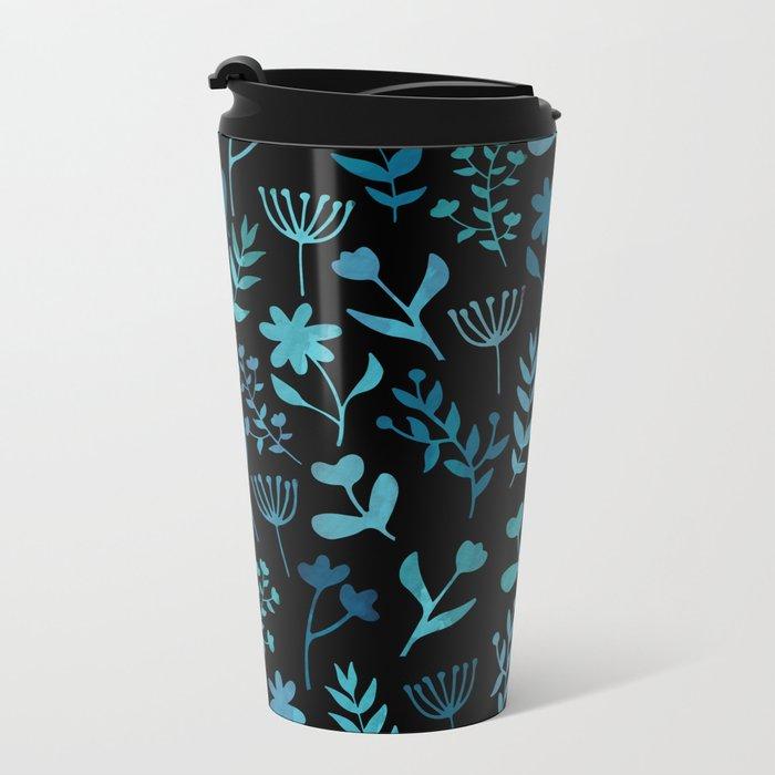 Lovely Pattern XIV Metal Travel Mug