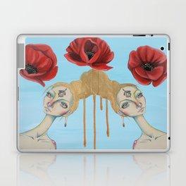 Poppies of Enlightenment Laptop & iPad Skin