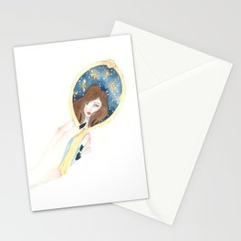 Disappearing Past Self Stationery Cards