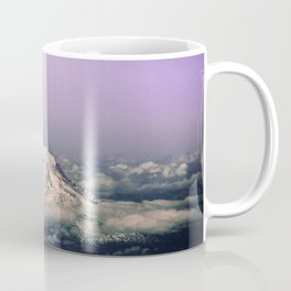 Above the Clouds - Mt. Adams Nature Photography Coffee Mug