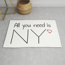 All you need is NY Rug