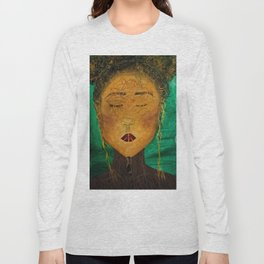 Wounded Nature Queen Long Sleeve T-shirt