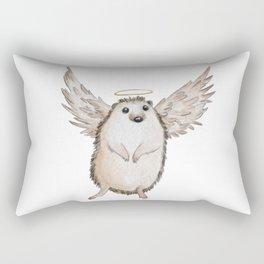 Angel hedgehog Rectangular Pillow