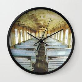 Train Wagon Wall Clock