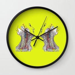 Dual anatomy Wall Clock