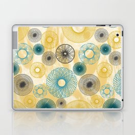 Spirograph Laptop & iPad Skin