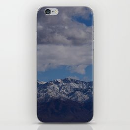Desert Snow on Christmas! iPhone Skin