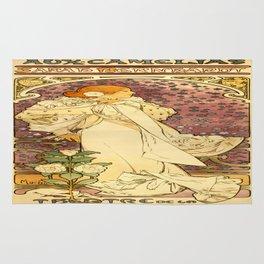 Vintage poster - La Dame Aux Camelias Rug