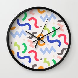 Decorative Curly  Wall Clock