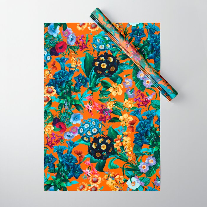 Romantic Garden VII Wrapping Paper