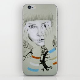 She, Tree iPhone Skin