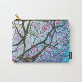 Pink Poui Carry-All Pouch