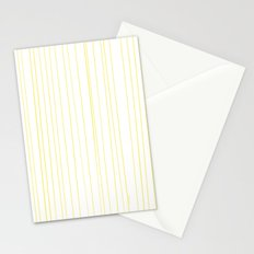 Yellow Lines by Friztin Stationery Cards
