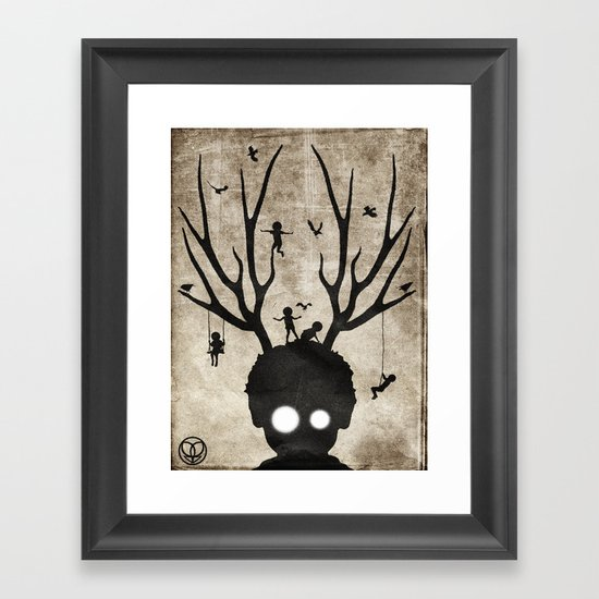 dear imaginary friends Framed Art Print