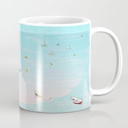 Between two waters Coffee Mug