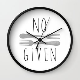 No Forks Given Wall Clock