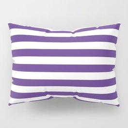 Purple and white university clemson alumni team sports football college Pillow Sham